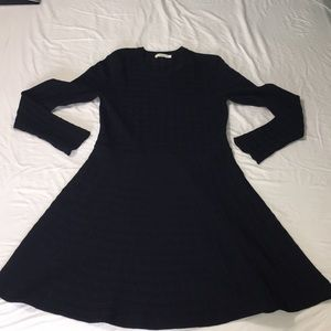 A.L.C thick stretch navy sweater dress